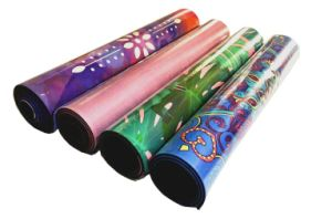 3.5mm Anti-Slip Yoga Mat with Different Design Printed on Microfiber Yoga Mat pictures & photos