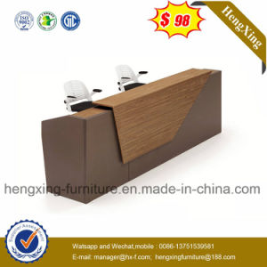 Modern Design Glass Desktop Office Furniture Reception Office Table (HX-RT516) pictures & photos
