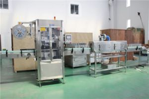 Automatic Bottled Shrink Sleeve Labeling Machine for Pet PVC Bottle Label pictures & photos