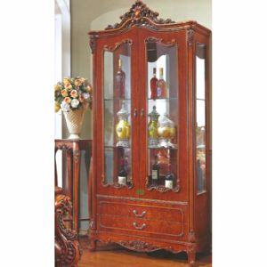 Wood Wine Cabinet / Two Doors Wine Cellaret (A859)