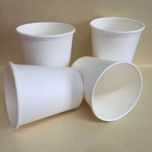 Disposable PLA Coated Single Wall Paper Coffee Cup (YHC-210) pictures & photos