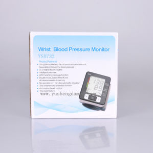 Ysd733 Ce Approved Healthcare Equipment Digital Blood Pressure Monitor pictures & photos