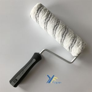 "Fy 9"" Grey Stripe Microfiber Europe Classic Roller pictures & photos"