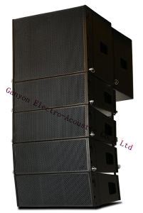 A206 Dual 6 Inch Active Line Array System, DSP Fir & Iir. Active Loudspeaker pictures & photos