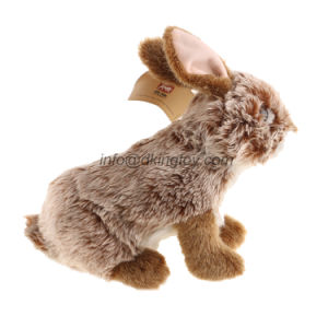 High Quality 9′′ Realistic Rabbit Stuffed Animal Soft Plush Toy pictures & photos