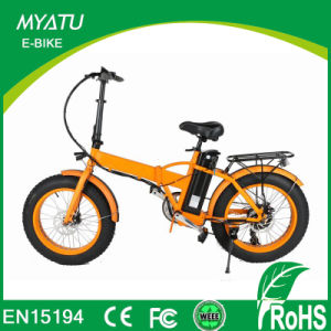 20 Inch Folding 500W Beach Cruiser Electric Bike Fat pictures & photos