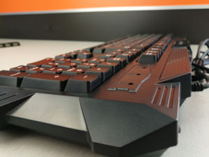 Beautiful Design Special USB Interface Djj218 -Black Gaming Silicone Keyboard pictures & photos