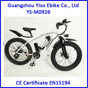 7 Speed Fat Tire Myatu Hub Motor Mountain E Bike pictures & photos
