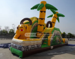 Cheer Amusement Animal Kingdom Inflatable Slide pictures & photos