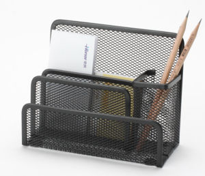 Desk Stationery/ Metal Mesh Stationery Letter Shelf/ Office Desk Accessories pictures & photos