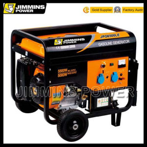 5kVA 5kw EPA Engine Air Cooled Single/Three Phase Portable Gasoline Electric Generator Price (JPG6500L 50/60Hz 3000rpm 110/220/230/240/250/380/400/415V) pictures & photos