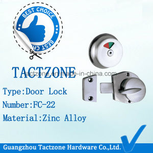Factory Toilet Cubicle Partition Accessories Lock Bathroom Indicator Lock pictures & photos