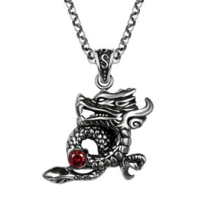 Chinese Style Dragon Necklace Pendant 316L Stainless Steel pictures & photos