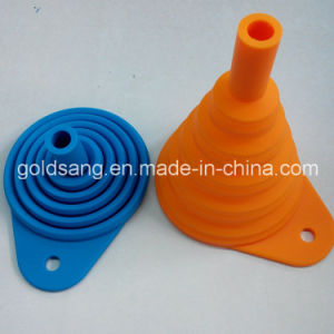 Factory Direct Selling Mini Portable Collapsible Silicone Funnel Filter pictures & photos