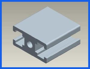 6060 6101 Anodized Aluminum Profile Tube/Pipe for Solar and Substation pictures & photos