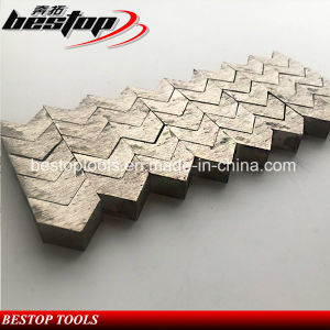 Arrow Type Diamond Segment for Grinding Plate pictures & photos