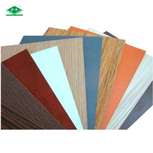 Synchronized Melamine MDF with 1220*2440*12mm Size E2 MDF pictures & photos