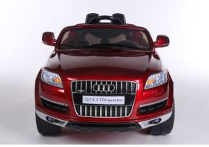 1452001- RC Car for Audi Q7 Ride on Car Four Wheels Children′s Electric Car Charging Drive with Remote Control Toy Car Baby Babies Who Can Sit Cross pictures & photos