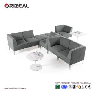Orizeal Modern Grey Fabric Sectional Modular Sofa (OZ-OSF019) pictures & photos