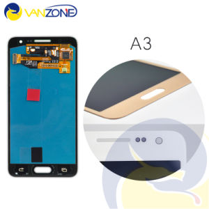 LCD Display Touch Screen Digitizer Assembly Replacement Parts for Samsung Galaxy A3 A3000 with Logo, Free Shipping pictures & photos