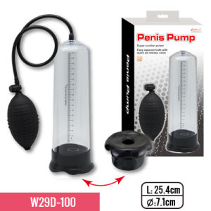 """10""""Pump with Soft and Stretchy TPE Sleeve and Big Bulb Sex Adult Toy pictures & photos"""
