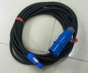 Power Cord Electric Supply Cable for Lighting Systems pictures & photos