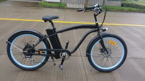 26 Inch Lithium Battery E-Bike En15194 Approved Electric Bike Beach Cruiser pictures & photos