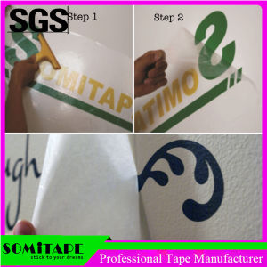 Somitape Sh363A Clear High Tack Application Tape for Sticking Advertising Signs pictures & photos