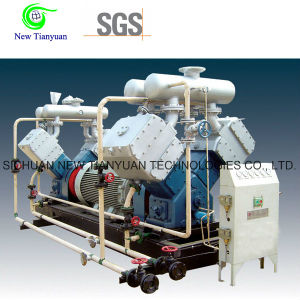 No Oil Lubrication 3 Stages Piston Gas Booster Compressor pictures & photos