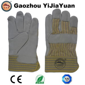 Ab Grade Cow Grain Leather Working Gloves pictures & photos