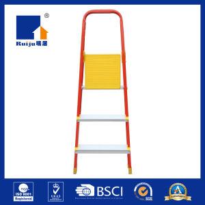 Orange Paint Aluminium Ladder pictures & photos