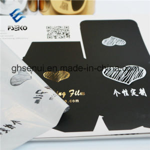 Hot Sleeking Foil with 3D Pattern for Digital Printing pictures & photos