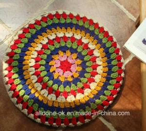Hand Crochet Zen Pad Mat Pastoral Futon Meditation Cushion Decoration pictures & photos