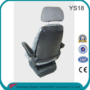 Grammer Construction Machinery Seat with Headrest and Armrest pictures & photos