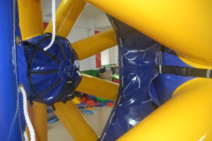 Fashion Design Wheel-Like Inflatable Cool Water Zorb Ball (CHW449) pictures & photos