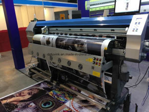 1600mm Advertisement Printing Machine with Infrared Fan for Flex Banner /Vinyl /Sticker /Poster Printing pictures & photos