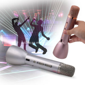in Stock Hot Sale 2 in 1 Wireless Bluetooth Handheld Condenser Karaoke Microphone K068 K088 for Android TV