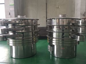 Zs-400 Stainless Steel Pharmaceutical Vibrating Sifter pictures & photos