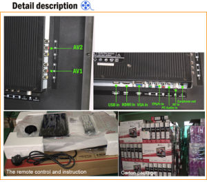 "32"" Smart Digital FHD Slim LED TV with DVB-T2 pictures & photos"