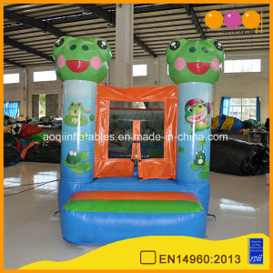 Small Jump Inflatable Frog Combo Bouncer for Sale (AQ2384) pictures & photos