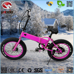 En15194 250W Fat Tire Electric Mini Folding Bike for Girl pictures & photos