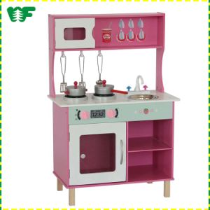 Kids Pretend Play Cook Wooden Pretend Kitchen pictures & photos