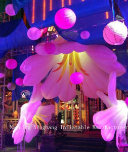 New Party Event Lighting Inflatable Flower for Wedding Decorations