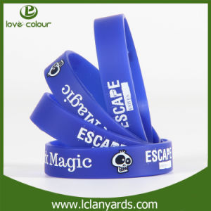 OEM Bracelet Band Sports Team Silicone Wristband for Custom pictures & photos