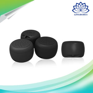 Mini Round Shape Bluetooth 4.0 Sound Box Slef-Timer Wireless Speaker pictures & photos