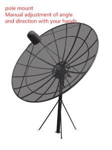 Pole/Polar Mount 12 Feet 3.7m C Band Satellite Aluminium Mesh Dish Outdoor Parabolic Antenna pictures & photos