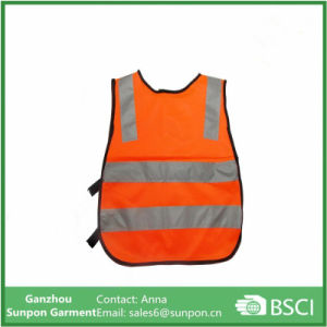 Children′s Reflective Vest Students Kids Warning Safety Vest Simple Style pictures & photos