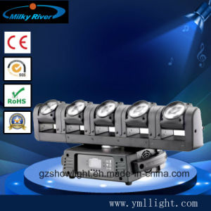 6*12W 4in1 RGBW CREE LEDs 6 Moving Heads Strip Stage Bar Lighting pictures & photos