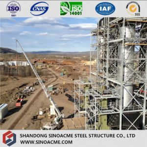 Heavy Steel Frame Structure for Power Plant Boiler pictures & photos