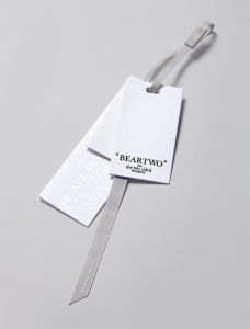 Customization Well-Designed Good Texture Hang Tag for Clothing pictures & photos